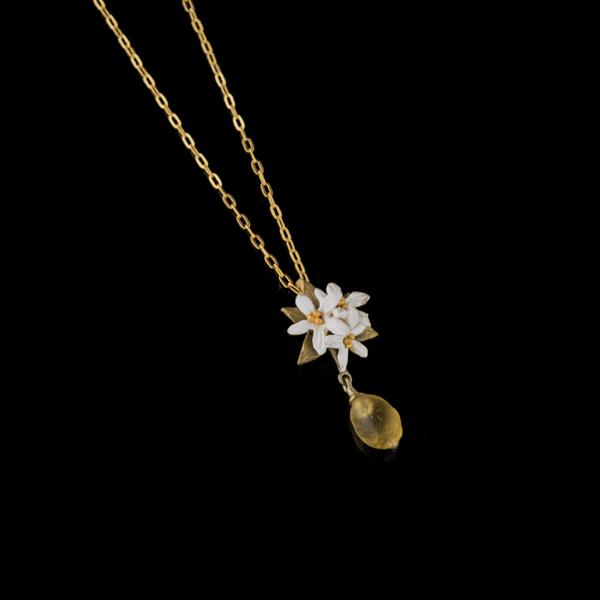 Lemon Drop 16″ Adj. Flower Pendant – Item#: 9222BZ