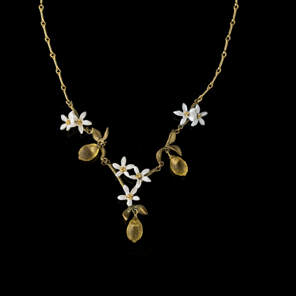 Lemon Drop 16″ Adj. Necklace – Item#: 9224BZ