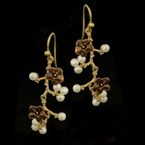 new arrivals 8b9bc ac958 Ume Branch Dangle Wire Earrings