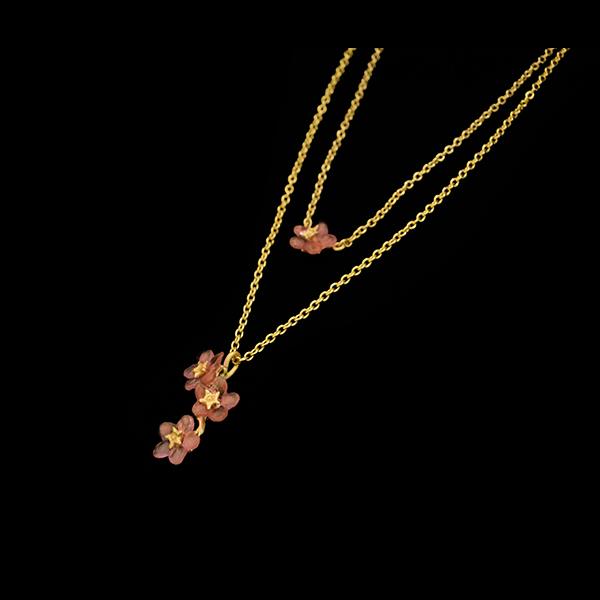Pinkie Winkie 18″ Adj. Double Layer Pendant – Item#: 9272BZ