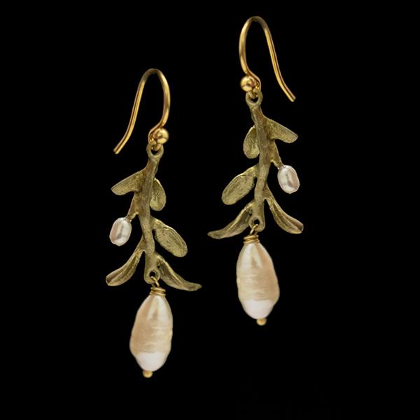 Victorian Vine Wire Earrings – Item#: 3555BZ