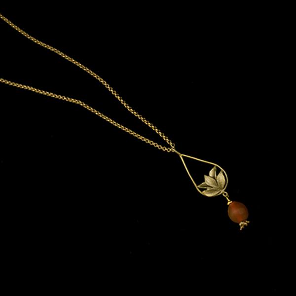 Pomegranate 20″ Adj. Tear Drop Pendant – Item#: 9288BZ