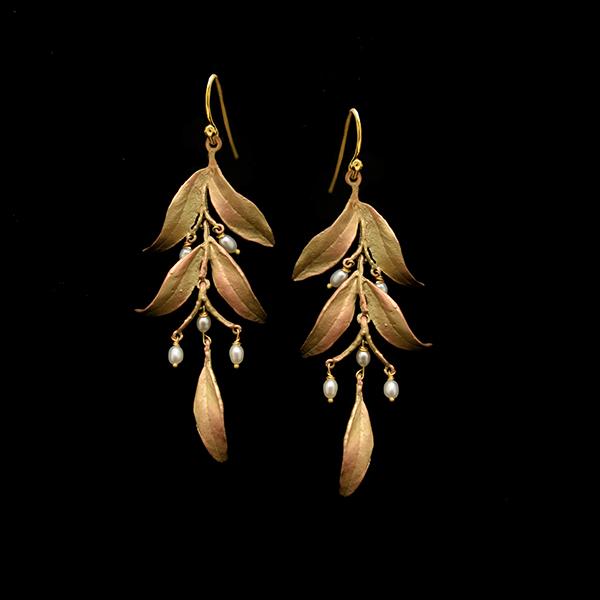 Tapestry Statement Wire Earrings – Item#: 3545BZ