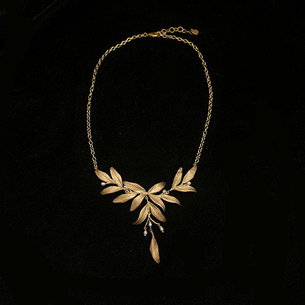 Tapestry 16″ Statement Necklace – Item#: 9292BZ